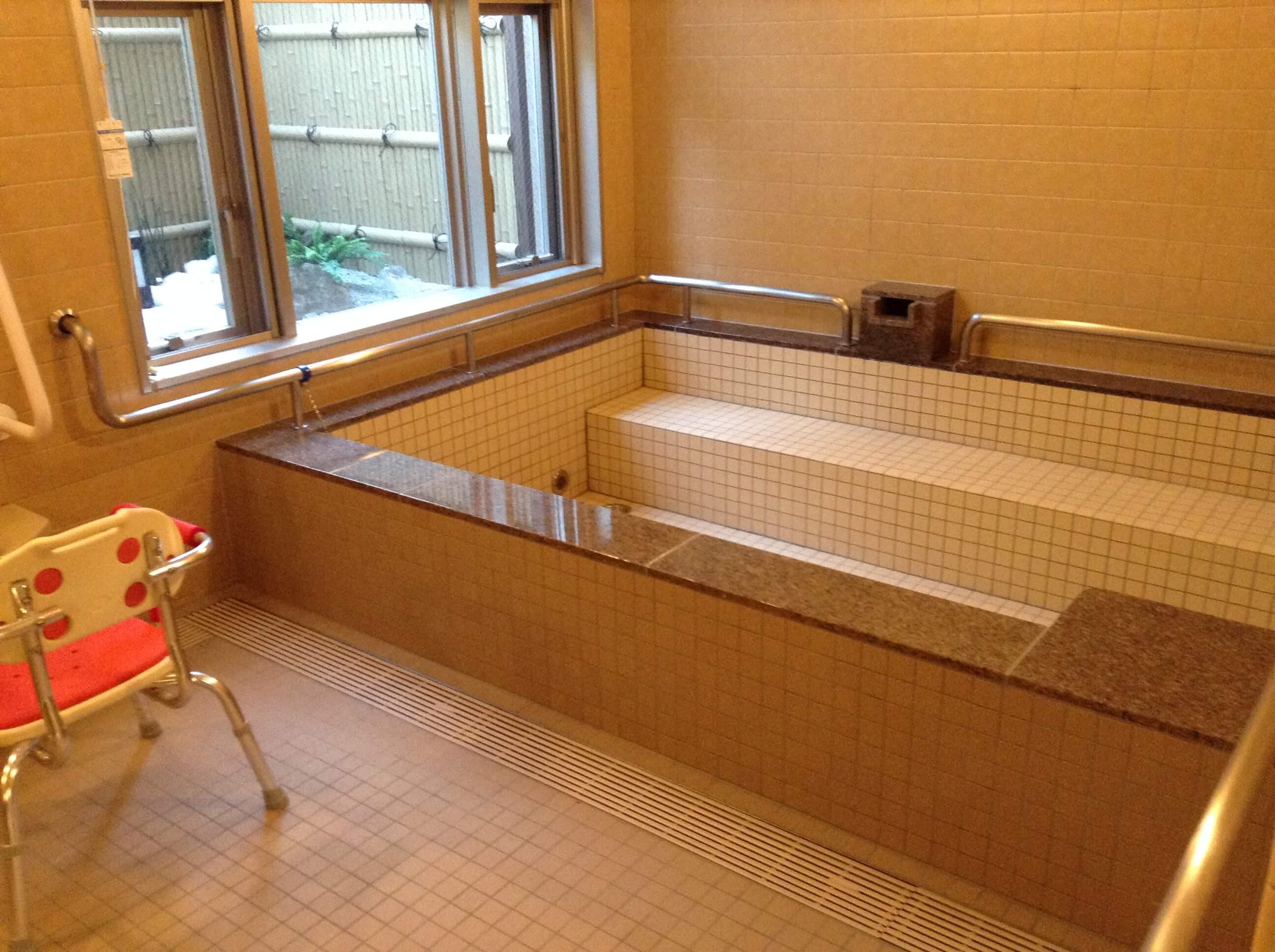 施設の入浴回数について